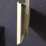 白色防风铝条-罩棚条形铝扣板厂家