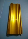 電泳金黃藝術大門型材,陽極氧化