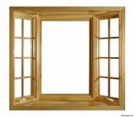 厂家直销 铝木门窗型材
