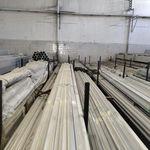 6系铝合金型材,锯床下料