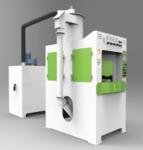 電熱管轉盤自動噴砂機