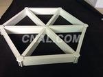 鋁格柵吊頂  三角鋁格柵