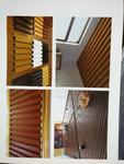 长城铝单板吊顶铝合金仿木纹长城板