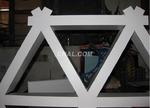 铝合金格栅吊顶 大三角铝格栅