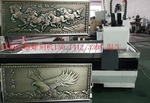 电镀铜门雕刻机 高档铝门花精雕机