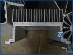 CNC精加工鋁型材LED散熱器加工