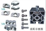 喷砂氧化流水线型材工业型材