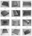 鋁散熱器精加工鑽孔攻絲銑槽