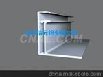消光电泳太阳能铝边框,门窗铝型材