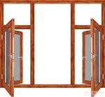 鋁木復合型材,別墅門窗鋁型材