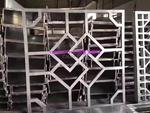 会所雕花铝单板屏风 镂空铝板幕墙
