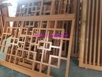 中式復古萬字鋁窗花 鋁花格廠家