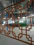 陽臺包裝雕刻鋁窗花生產廠家