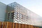 雕花铝单板-氟碳铝板-冲孔雕花单板