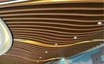 KTV弧形铝方通-墙身造型装饰