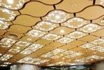 大堂吊顶造型铝单板设计定做