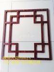 型材方管铝合金窗花应用外墙隔断