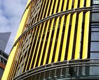 建筑外遮阳板型材  遮阳板铝材 铝遮阳板