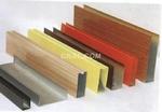 鋁型材方通吊頂,u形木紋鋁方通