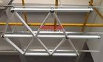 三角铝格栅天花