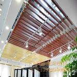 熱轉印木紋鋁方通 金華弧形鋁方通