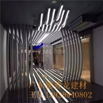 科技展馆铝方通吊顶木纹铝方通