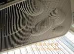 商场穹顶装饰弧形铝方通