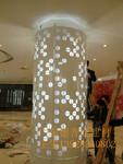 包柱铝单板 圆柱集成墙面天花板