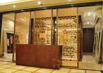 商業街古樓熱轉印木紋鋁合金護欄