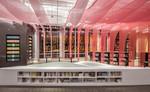 穿孔鋁單板網板營造的夢幻彩虹書店