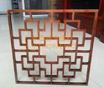 售楼处焊接铝窗花 隔断镂空铝板