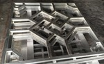 回字形鋁窗花供應廠家