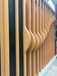 背景墙氟碳波浪形铝方通
