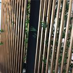 精裝藝術造型-鋁方通隔斷裝飾屏風