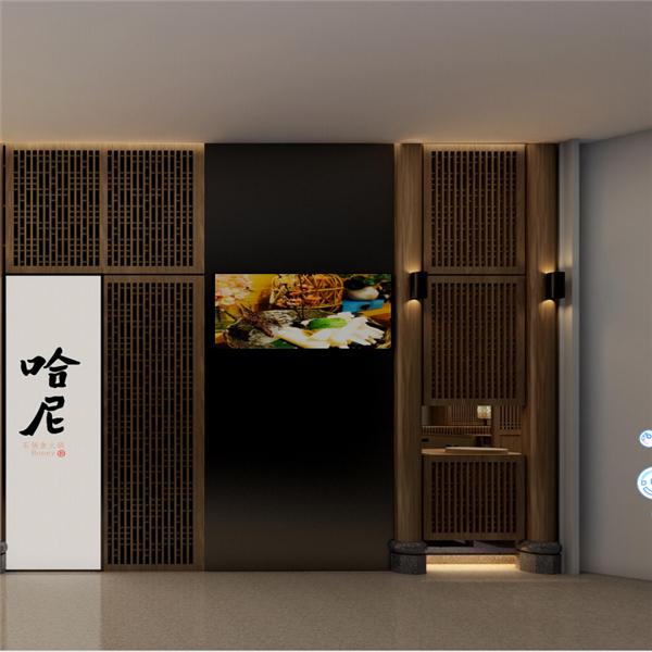 餐厅室内装饰仿古中式窗图