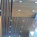 仿真木纹型材铝方通-配送龙骨