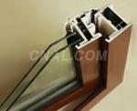 供應廣州鋁塑共擠門窗型材