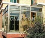 无锡中空钢化玻璃阳光房/断桥铝平开窗/夹胶玻璃封露台