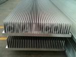 供应铝排散热器,大截面散热器