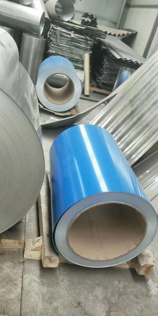 0.6MM鋁皮彩色一米價格