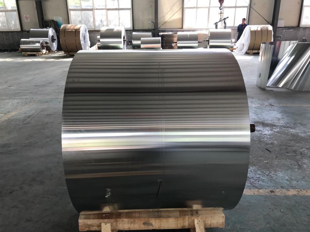 庫存處理0.3毫米保溫鋁卷-鑫合鋁業
