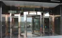 湖北不�袗�/鋁型材三翼旋轉門廠家