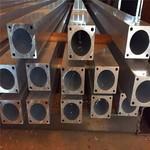 開模定做合金鋁型材 合金方鋁管