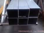 供应大口径铝合金矩形管 方通批发