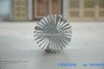 高精密铝散热器型材