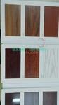 供应刨花木纹,PU木纹型材