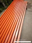 100mm宽无缝长城铝扣板 铝条板