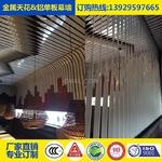 铝合金幕墙隔断装饰180度扭曲板