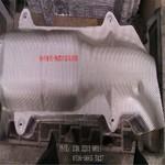 椭圆球形压花铝板厂家支持定制