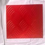 梅红色氧化铝板